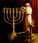 Temple hannakah Menorah1
